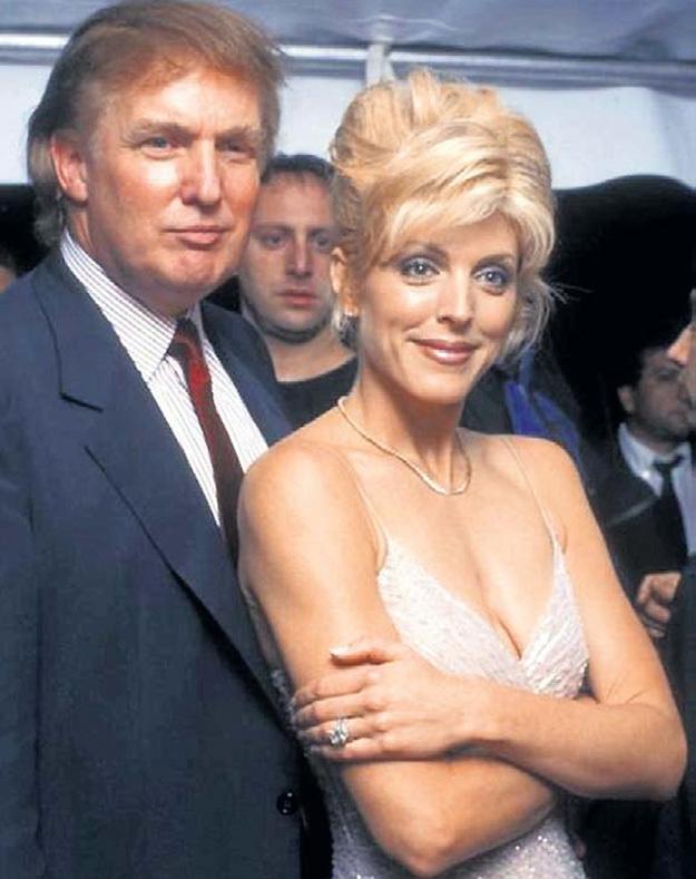 Со второй женой Марлой МЕЙПЛЗ миллиардер впервые почувствовал себя сексуальным гигантом