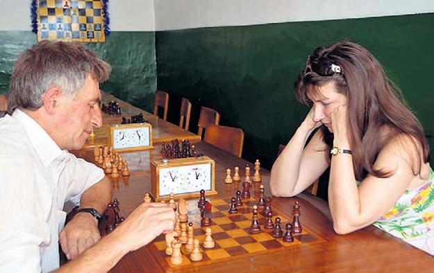 Мария познакомилась с сербом ТОШИЧЕМ за шахматной доской. Фото с сайта Svrljig.info