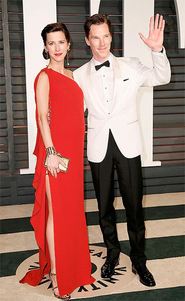 С женой Софи ХАНТЕР. Фото: © Reuters