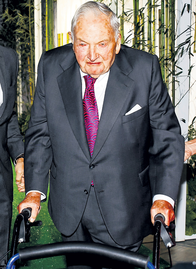 Дэвид РОКФЕЛЛЕР: 101-летний патриарх могущественной семьи