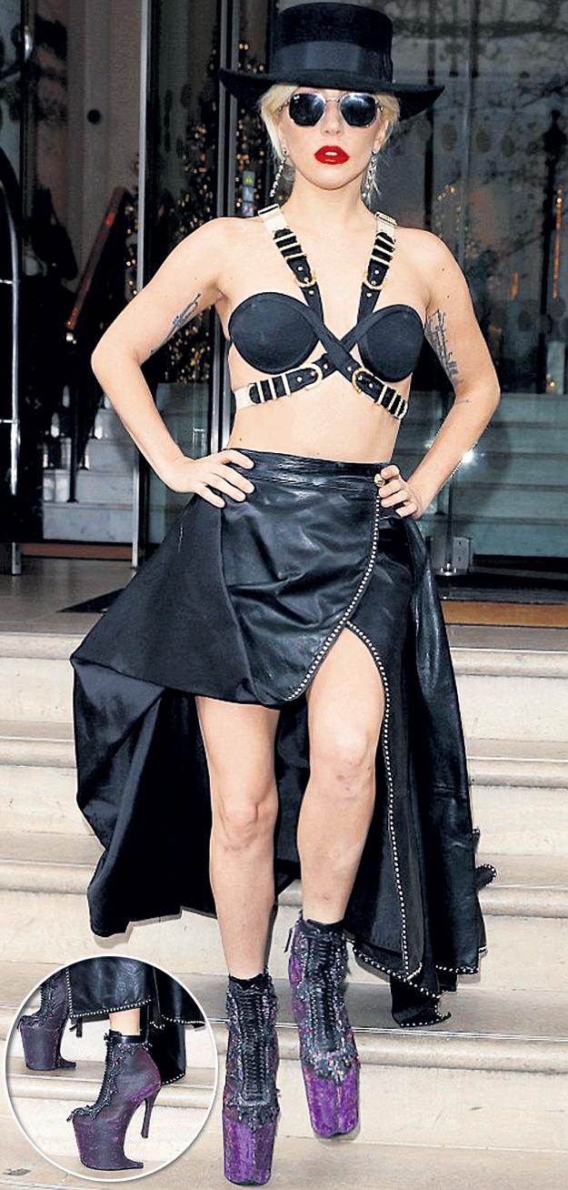 Эпатажный стиль Lady Gaga - это попытка избавиться от комплексов юности