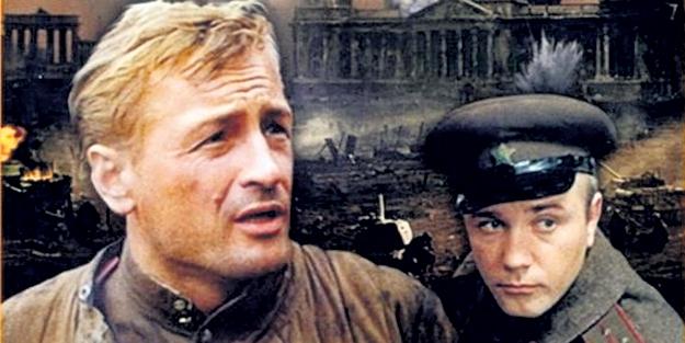 Михаил НОЖКИН и Леонид КУРАВЛЕВ (справа) в эпопее «Освобождение»