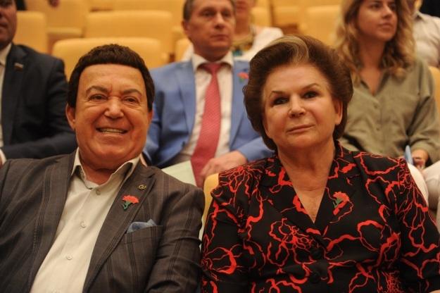 Валентина Терешкова и Иосиф Кобзон (Фото: Владимир Веленгурин/