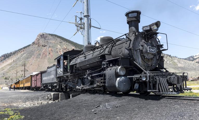 Прокладка железной дороги дорого далась основателям США. ФОТО: Pixabay.