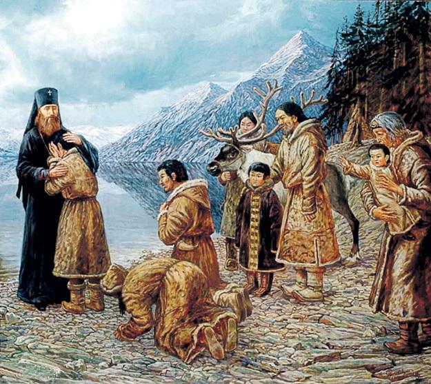 Русские старались договариваться с индейцами миром. Американцы и англичане подстрекали аборигенов нападать на наши поселения и снабжали их огнестрельным оружием
