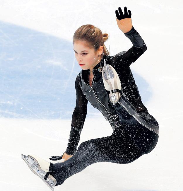 Знаменитая фигуристка сейчас переживает не лучший период в карьере. Фото: © Reuters