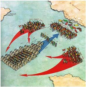 Иллюстрация из книги А. Митяева «Ветры Куликова поля». Источник: chaltlib.ru