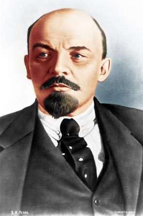Владимир Ильич Ленин цветной портрет. Фото: Википедия