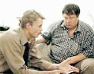 В СЕРИАЛЕ &#034СЫЩИКИ&#034: Борис Щербаков и Сергей Степанченко