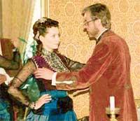КАДР ИЗ СЕРИАЛА: в роли царя - Георгий Тараторкин