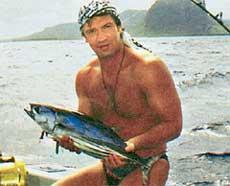 ВОВА МАШКОВ: азартен и в казино, и на рыбалке
