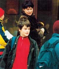 ВТОРАЯ СЕМЬЯ: бывшая жена Ирина и младший сын Александр