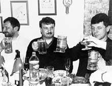 РЕЙМАН, ГРЕФ, КОЗАК: русские министры с немецким пивом