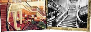 &#034QUEEN MARY 2&#034 и &#034ТИТАНИК&#034: лестницы главного бара нынешнего лайнера &#034слизаны&#034 с тех, что ушли на дно