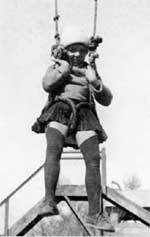 МАЛЕНЬКАЯ ЗОЯ: на территории консульства в Пекине (1927 г.)