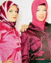 МУСУЛЬМАНСКИЕ ПЛАТКИ: подчеркивают красоту женщин Востока
