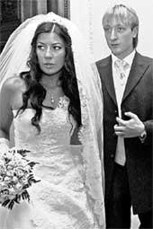 МАША И ЕВГЕНИЙ: в день свадьбы выглядели безупречно