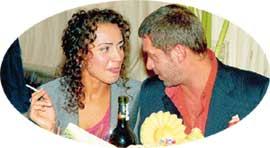ОКСАНА И ВОЛОДЯ: любят друг друга не только за накрытым столом