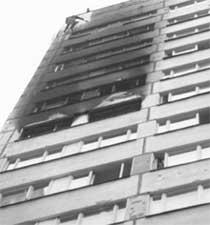 ОБГОРЕВШАЯ ОБЩАГА: трагедия случилась на 11-м этаже