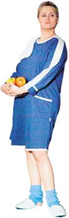 АНЯ МИХАЛКОВА: освоила походку, характерную для беременных