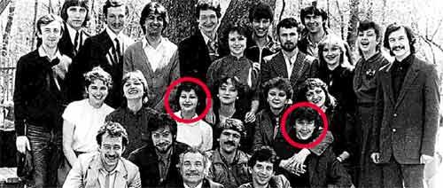 СТУДЕНТЫ - ТЕАТРАЛЫ (1986 г.): после училища Миронов уехал покорять Москву, а его близкая подруга Маша Горелик перебралась в Израиль