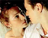 СЕРИАЛЬНАЯ СВАДЬБА: Гусева играла в любовь с Сергеем Безруковым (кадр из телефильма &#034Бригада&#034)