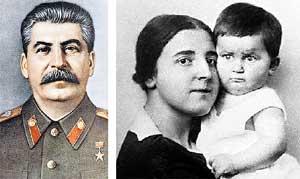 ИОСИФ ВИССАРИОНОВИЧ: признался, что застрелил супругу Надю (на руках Надежды маленький Василий Сталин)