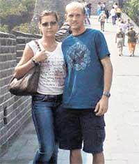 ВЕЛИКАЯ КИТАЙСКАЯ СТЕНА: Николай и Ирина много поездили по миру еще до свадьбы