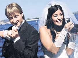 ЖЕНЯ И МАША: в день свадьбы ничто не предвещало проблем