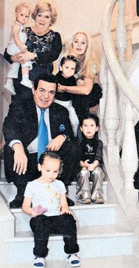 Кобзон семья дети фото