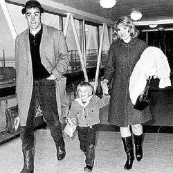 ШОН И ДИАНА С СЫНОМ: мать всегда была парню ближе, чем папаша
