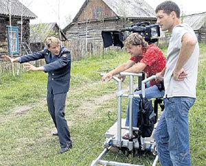 ЛЕША ШЕВЧЕНКОВ: «участковый Федя» развлекает оператора байками