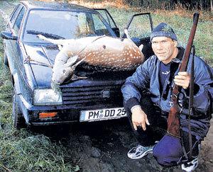 Александр ВАЛУЕВ во время съёмок документального фильма о себе выиграл смертельную схватку у косули