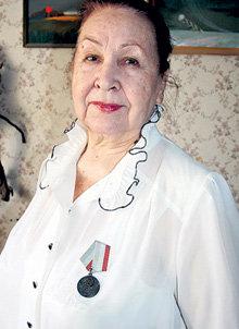 Супруга ветерана Любовь Степановна
