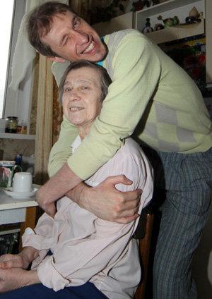 Сергей СОСЕДОВ с матерью