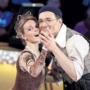 ГОРДЕЕВА и Егор БЕРОЕВ в шоу Ледниковый период