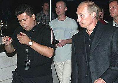 Владимир Путин на концерте Николая Расторгуева - фото nikolay-rastorguev.ru