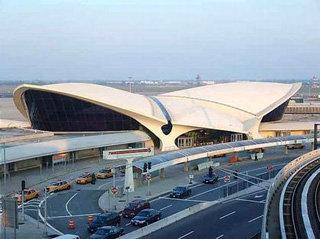 Один из терминалов аэропорта им. Кеннеди