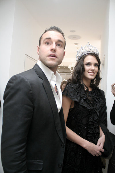 Филипп ПЛЕЙН, Мисс Россия-2010 Ирина АНТОНЕНКО