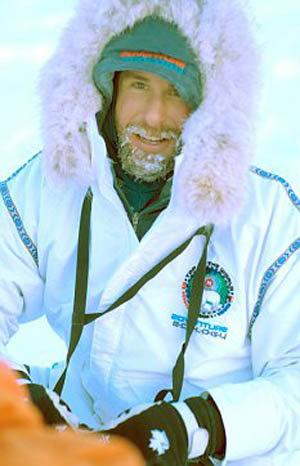 Дэвид во время путешествия на Северный Полюс. Фото: dailymail.co.uk