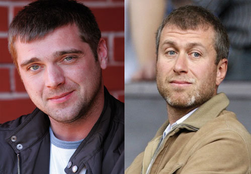 Сергей КУПРИК (слева) споет для Романа АБРАМОВИЧА (справа).