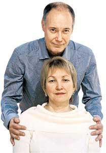 Владимир Конкин с женой Аллой. Фото: kp.ru