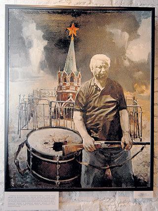 Когда репродукцию картины под названием «Финал» показали Борису Николаевичу, он от души посмеялся