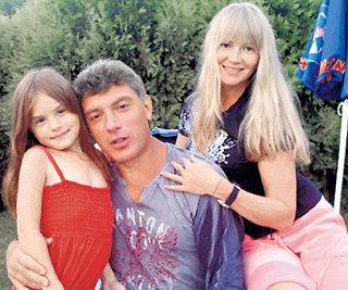 С третьей семьёй - Ириной КОРОЛЁВОЙ  и дочерью Софьей