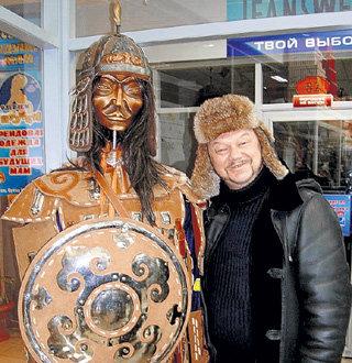 Виктор считает себя потомком Чингисхана, поэтому разборок со звёздами не боится