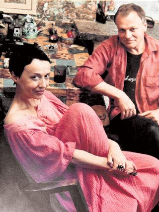 С любимым супругом Александром СОЛОВЬЁВЫМ Ирина прожила три счастливых года