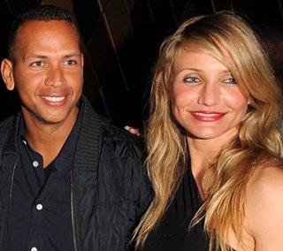 Кэмерон Диас и Алекс Родригес - фото zimbio.com