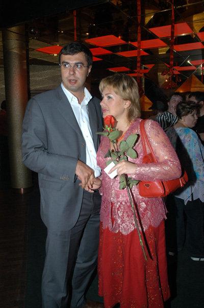 Ева ПОЛЬНА с мужем Сергеем (фото Ларисы Кудрявцевой)
