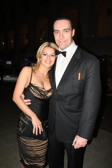 Александр НЕВСКИЙ с женой Катей