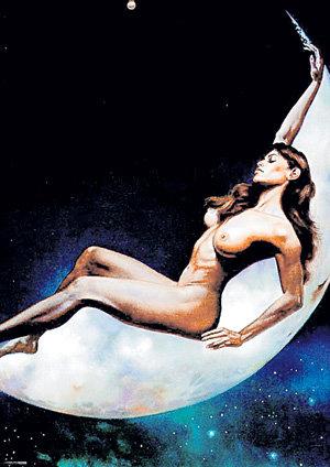 Луна делает женщину необузданной